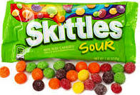 Skittles Sour - 24 bags per display box