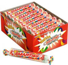 Smarties Mega - 24 rolls per display box