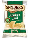 Snyders Kosher Dill & Buffalo Wing Potato Chips of Hanover Snack Foods