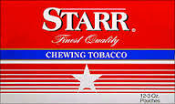 Starr Chewing Tobacco 12ct