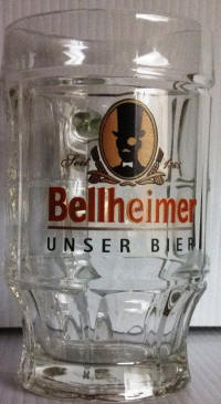 Bellheimer German Beer Mug 14oz
