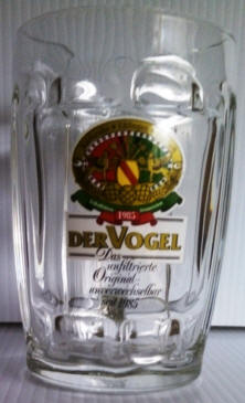 Der Vogel German Beer Glass 14oz