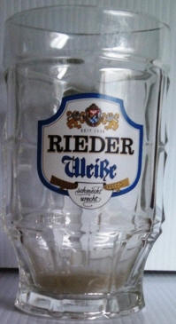 Rieder German Beer Mug 14oz