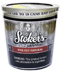 Stoker S Fine Cut Natural Tobacco 12oz Tub