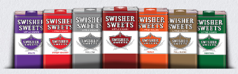 Swisher Sweets Menthol Filtered Cigars