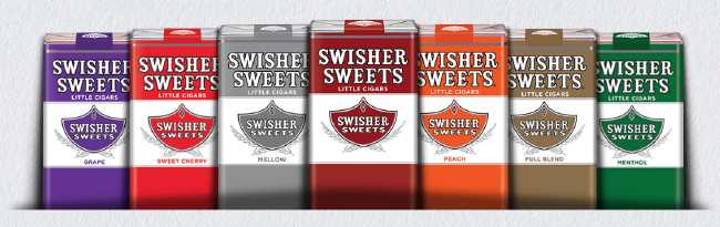 Swisher Sweets Cherry Little Filtered Cigars