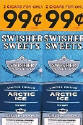Swisher Sweets Arctic Ice Cigarillo 2 for 99 Cigars