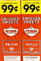 Swisher Sweets Peach Cigarillo 2 for 99 Cigars