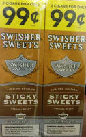 Swisher Sweets Sticky Sweets Cigarillo 2 for 99 Cigars