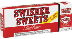 Swisher Sweets Cherry Little Filtered Cigars carton 200 cigars