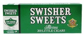 Swisher Sweets Menthol Little Filtered Cigars