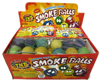 TNT Smoke Balls 72ct per case