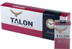 Talon Sweet Little Filtered Cigars 10/20's - 200 cigars