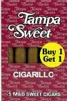 Tampa Sweet Cigarillo Cigars Buy 1 Get 1 Free Cigars