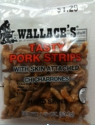 Wallace Regular Tasty Strips Pork Rinds