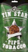 Tin Star Mint Pipe Tobacco 3oz bags