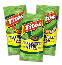 Tito's Pickles Kosher Dill Hot & Spicy Dill