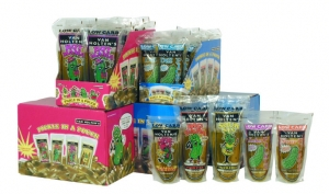 Van Holten Pickles - Individually Wrapped Garlic Gus - Hot Mama - Big Papa - Sour Sis Pickles