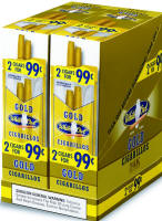 White Owl Gold Cigarillos 2 for 99 Cigars