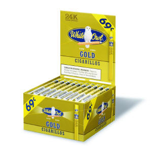 White Owl Gold Cigarillo Cigars Bonus Box 60ct