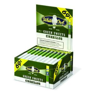 White Owl Green Cigarillo Cigars Bonus Box 60ct