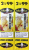 White Owl Spiked Lemonade 2 for 99¢ cigars - 60 cigarillos