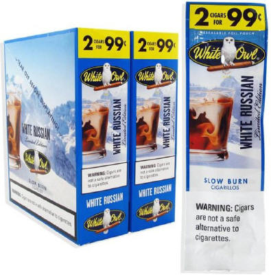 White Owl White Russian Cigarillo 2 for 99 Cigars