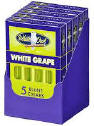 White Owl White Grape Blunt Cigars Pack 5/5's 25 Cigars