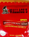 Wallace Spicy Chicken Skins 2oz bag