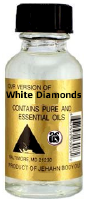 White Diamonds Body oil .5oz bottle
