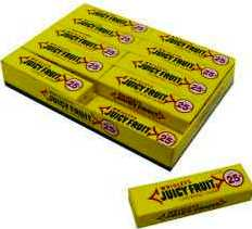 Wrigley's Juicy Fruit 40ct Chewing Gum