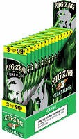 ZIG ZAG Green Sweets Cigarillo's 15 - 3ct ( 45ct )