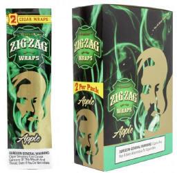 Zig Zag Apple Cigar Wraps 25-2ct - 50 wraps