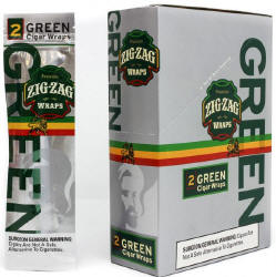 Zig Zag Green Island Cigar Wraps 25-2ct - 50 wraps