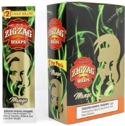 Zig Zag Mango Cigar Wraps 25-2ct - 50 wraps