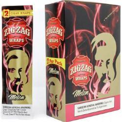 Zig Zag Melon Cigar Wraps 25-2ct - 50 wraps