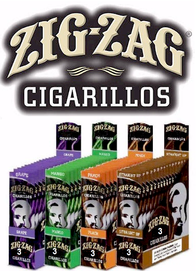 Zig Zag White Grape Cigarillo's Cigars 15/3ct - 45 cigars