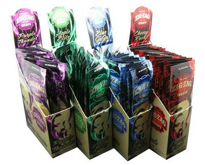 Zig Zag Blunts - Zig Zag Blunt Wraps - Peach Frenzy - Purple Thunder - Apple - Cherry Rush - Blue Ju Ju - Melon Burst 25ct-2ctZig Zag Blunts - Zig Zag Blunt Wraps - Peach Frenzy - Purple Thunder - Apple - Cherry Rush - Blue Ju Ju - Melon Burst 25ct-2ct