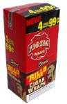 Zig Zag Sweet Rillo Size Cigar Wraps 15/4's - 60 wraps