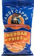 Andy Capps Cheddar Fries 3.5oz Bags 12ct