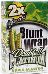 Double Platinum Blunt Wraps Apple Martini 50ct