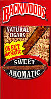 Backwoods Sweet Cigars pack 5/8's