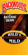 Backwoods Wild & Mild Cigars pack 5/8's