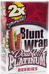 Double Platinum Blunt Wraps Berries 50ct