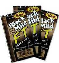 Black & Mild Filter Tip Cigars
