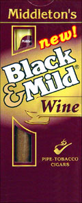 Black Mild Mild - Black Mild Apple - Black Mild Gold Mild - Black Mild Cherry Blend - Black Mild Cream Vanilla - Black Mild Wine - Black Mild Fast Break - Black Mild Fast Break Apple - Black Mild Fast Break Mild - Black Mild Filter Tip 10/5's Packs Uprights