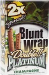 Double Platinum Blunt Wraps Champagne 50ct