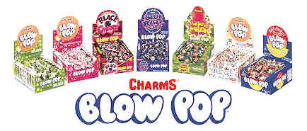 Charms Black Cherry Blow Pops 48ct
