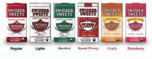 Swisher Sweets Cherry Little Cigars 10/20's 200 cigars
