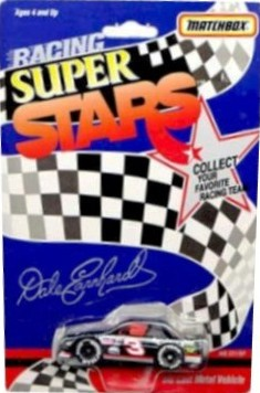 Dale Earnhardt 1991 Chevy Lumina Matchbox NASCAR Racing Super Stars